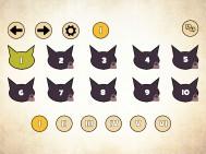 Rhythm Cat Menu Page